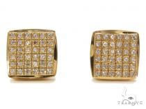 Prong Diamond Earrings 40530 Mens Diamond Earrings