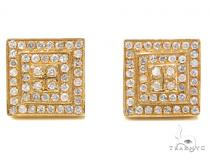 Prong Diamond Earrings 40533 Mens Diamond Earrings