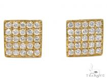 Prong Diamond Earrings 40540 Mens Diamond Earrings