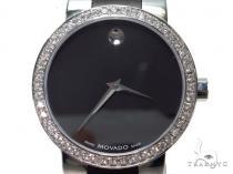Pave Diamond Movado Watch 0606373 40595 Movado