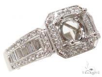 Prong Diamond Semi Mount Ring 40663 セミマウント ダイヤモンド リング