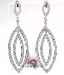 Illusion Earrings レディース ダイヤモンドイヤリング