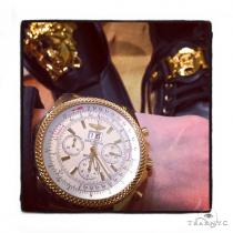18k Gold Breitling Bentley Watch 40817 ブライトリング Breitling