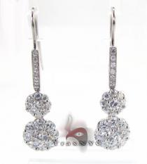 Caribbean Earrings レディース ダイヤモンドイヤリング