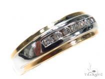 Channel Diamond Wedding Band 40856 Style