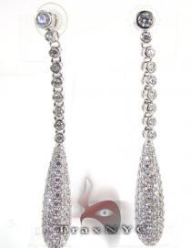 Pear Earrings レディース ダイヤモンドイヤリング