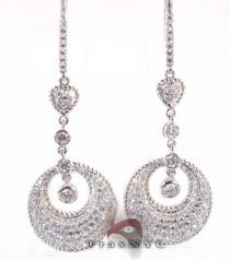 Crescent Earrings レディース ダイヤモンドイヤリング