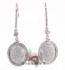 Full Moon Earrings Stone