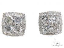 Prong Diamond Earrings 40650 Mens Diamond Earrings