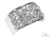 Bezel Diamond Wedding Band 40773 Style