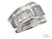 Invisible Diamond Ring 40487 Mens Diamond Rings