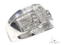 Micro Pave Diamond Ring 40482 Stone