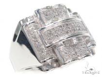 Micro Pave Diamond Ring 40472 Stone
