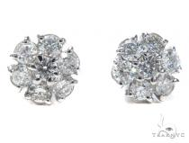 Anemone Diamond Earrings 40885 Stone