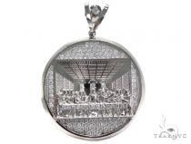 Sterling Silver Pendant 40880 Metal