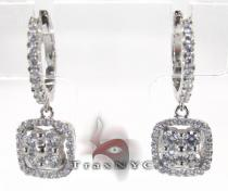 Aqua Earrings レディース ダイヤモンドイヤリング