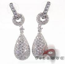 Pear Earrings 2 レディース ダイヤモンドイヤリング
