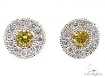 E.X Solitaire Earrings メンズ ダイヤモンドイヤリング ピアス
