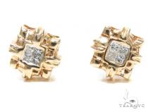 Invisible Diamond Earrings 40952 レディース ダイヤモンドイヤリング