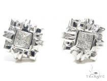 Invisible Diamond Earrings 40951 レディース ダイヤモンドイヤリング