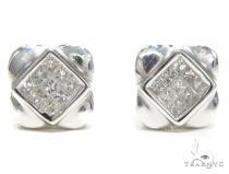 Invisible Diamond Earrings 40954 レディース ダイヤモンドイヤリング