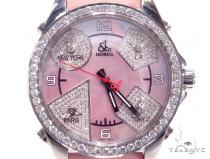 Jacob & Co JCM79P Five Time Zone Ladies Watch 40997 JACOB & Co ジェイコブ