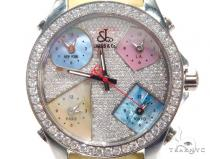 JACOB & Co Five Time Zone Diamond Watch JCM44 40999 JACOB & Co ジェイコブ