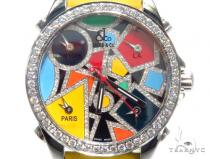JACOB & Co Five Time Zone Diamond Watch JCM115DA 41007 JACOB & Co ジェイコブ