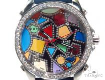 JACOB & Co Five Time Zone Diamond Watch JCM113DA 41009 JACOB & Co ジェイコブ