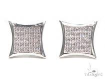 Sterling Silver Earrings 41112 Metal