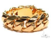 Miami Cuban Gold Bracelet 41125 Gold Mens Bracelets