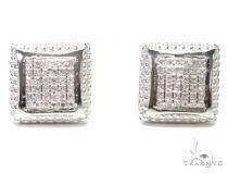 Prong Diamond Earrings 41198 Mens Diamond Earrings