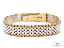 Gold Bracelet 41212 Gold Mens Bracelets