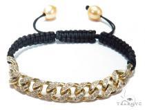 Miami Cuban Diamond Rope Bracelet 41216 メンズ ダイヤモンド ブレスレット