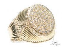 14k Yellow Gold Ring 41230 Mens Gold Rings