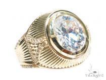 14k Yellow Gold Ring 41231 メンズ ゴールド リング