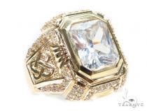 14k Yellow Gold Ring 41232 Mens Gold Rings