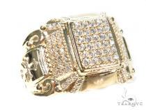 14k Yellow Gold Ring 41233 Mens Gold Rings