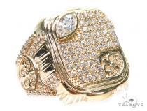 14k Yellow Gold Ring 41234 Mens Gold Rings