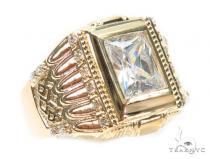14k Yellow Gold Ring 41235 メンズ ゴールド リング