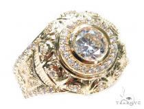 14k Yellow Gold Ring 41236 Mens Gold Rings
