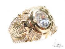 14k Yellow Gold Ring 41239 Mens Gold Rings