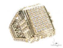 14k Yellow  Gold Ring 41243 Mens Gold Rings