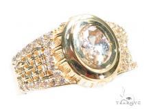 14k Yellow Gold Ring 41244 Mens Gold Rings