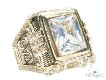 14K Yellow Gold Ring 41222 Mens Gold Rings