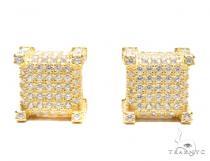 Sterling Silver Earrings 41284 Metal