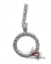 Loop Pendant 2 Diamond Pendants