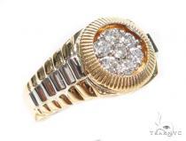 Diamond Timepiece Ring 41453 Stone
