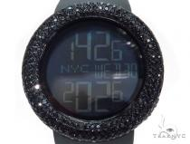 Black Diamond Gucci Watch 41579 Gucci