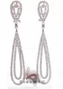 Romance Earrings 2 レディース ダイヤモンドイヤリング